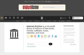 Historia (Archiwum) stron WWW